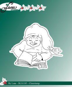 Stempel / reading elf / By Lene