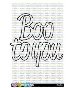 Dies / Boo to you / C.C Design