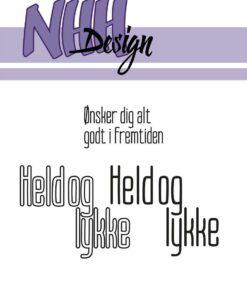 Stempel / Danske tekster / NHH Design