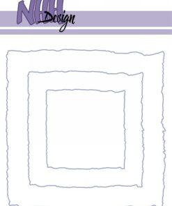 Dies / Torn paper square / NHH Design