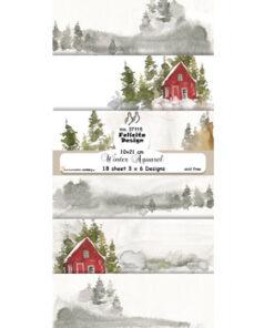 Karton slimcard / Jul / Felicita Design