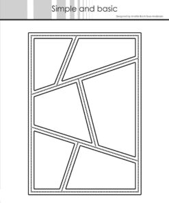 Dies / A6 wonky window / Simple and Basic
