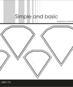 Dies / outline diamonds / Simple and Basic