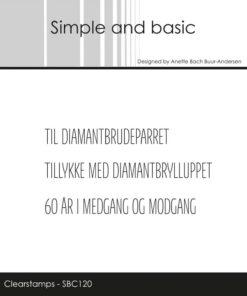Stempel / Danske tekster / Simple and Basic