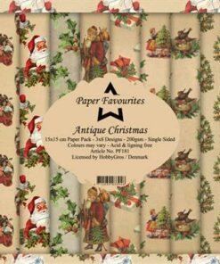 Karton 15x15 cm / Antique Christmas / Paper Favourites