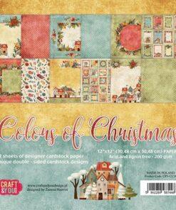 Karton 30,5x30,5 / Colors of Christmas / Craft & You