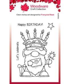 Stempel / Birthday cake gnome / Woodware